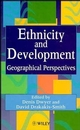 Ethnicity and Development: Geographical Perspectives (0471963542) cover image