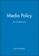 Media Policy: An Introduction (0631204342) cover image