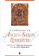 A Companion to Anglo-Saxon Literature (0631209042) cover image