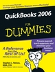 QuickBooks 2006 For Dummies (0764599542) cover image
