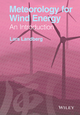 Meteorology for Wind Energy: An Introduction (1118913442) cover image