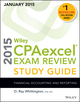 Wiley CPAexcel Exam Review 2015 Study Guide (January): Financial Accounting and Reporting (1118917642) cover image