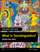 What Is Sociolinguistics?, 2nd Edition (1118960742) cover image