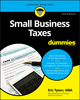 Small Business Taxes For Dummies, 2nd Edition (1119517842) cover image