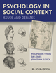 Psychology in Social Context: Issues and Debates (1405168242) cover image