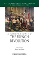 A Companion to the French Revolution (1444335642) cover image