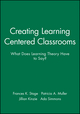 Creating Learning Centered Classrooms: What Does Learning Theory Have to Say? (1878380842) cover image