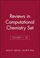 Reviews in Computational Chemistry, Volumes 1 - 23 Set (0470139943) cover image