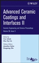 Advanced Ceramic Coatings and Interfaces II: Ceramic Engineering and Science Proceedings, Volume 28, Issue 3 (0470196343) cover image
