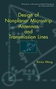 Design of Nonplanar Microstrip Antennas and Transmission Lines (0471182443) cover image