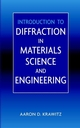 Introduction to Diffraction in Materials Science and Engineering (0471247243) cover image