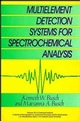 Multielement Detection Systems for Spectrochemical Analysis  (0471819743) cover image