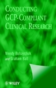 Conducting GCP- Compliant Clinical Research: A Practical Guide (0471988243) cover image