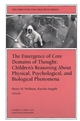 The Emergence of Core Domains of Thought: New Directions for Child and Adolescent Development, Number 75 (0787998443) cover image