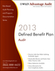 Wiley Advantage Audit 2013 - Defined Benefit Pension Plan (1118377443) cover image
