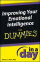 Improving Your Emotional Intelligence In a Day For Dummies (1118538943) cover image