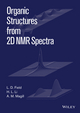 Organic Structures from 2D NMR Spectra (1118868943) cover image