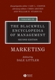 The Blackwell Encyclopedia of Management, Volume 9, Marketing, 2nd Edition (1405102543) cover image