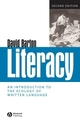 Literacy: An Introduction to the Ecology of Written Language, 2nd Edition (1405111143) cover image