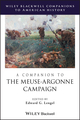 A Companion to the Meuse-Argonne Campaign (1444350943) cover image