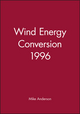 Wind Energy Conversion 1996 (1860580343) cover image
