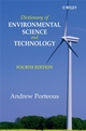 Dictionary of Environmental Science and Technology, 4th Edition (0470061944) cover image