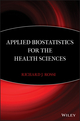 Applied Biostatistics for the Health Sciences (0470147644) cover image