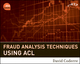 Fraud Analysis Techniques Using ACL (0470392444) cover image