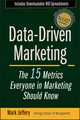 Data-Driven Marketing: The 15 Metrics Everyone in Marketing Should Know (0470504544) cover image