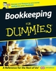 Bookkeeping For Dummies (0470686944) cover image