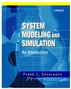 System Modeling and Simulation: An Introduction (0471496944) cover image