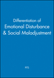 Differentiation of Emotional Disturbance & Social Maladjustment (0471732044) cover image