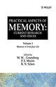 Practical Aspects of Memory, Current Research and Issues, Volume 1, Memory of Everyday Life (0471912344) cover image