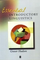 Essential Introductory Linguistics (0631203044) cover image