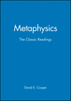 Metaphysics: The Classic Readings (0631213244) cover image