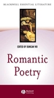 Romantic Poetry (0631229744) cover image