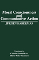 Moral Consciousness and Communicative Action (0745611044) cover image