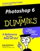 Photoshop 6 For Dummies (0764507044) cover image