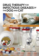 Drug Therapy for Infectious Diseases of the Dog and Cat (1118557344) cover image