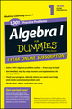 1,001 Algebra I Practice Problems For Dummies Access Code Card (1-Year Subscription) (1118842944) cover image