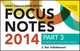 Wiley CIAexcel Exam Review 2014 Focus Notes: Part 3, Internal Audit Knowledge Elements (1118893344) cover image