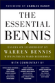 The Essential Bennis (1119143144) cover image