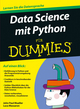 Data Science mit Python f�r Dummies (3527807144) cover image