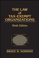 The Law of Tax-Exempt Organizations, 9th Edition (0470127945) cover image