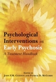 Psychological Interventions in Early Psychosis: A Treatment Handbook (0470844345) cover image
