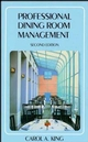 Professional Dining Room Management, 2nd Edition (0471289345) cover image