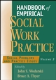 Handbook of Empirical Social Work Practice, Volume 2: Social Problems and Practice Issues (0471654345) cover image