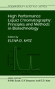 High Performance Liquid Chromatography: Principles and Methods in Biotechnology (0471934445) cover image