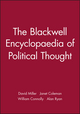 The Blackwell Encyclopaedia of Political Thought (0631179445) cover image