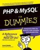 PHP and MySQL For Dummies, 2nd Edition (0764568345) cover image